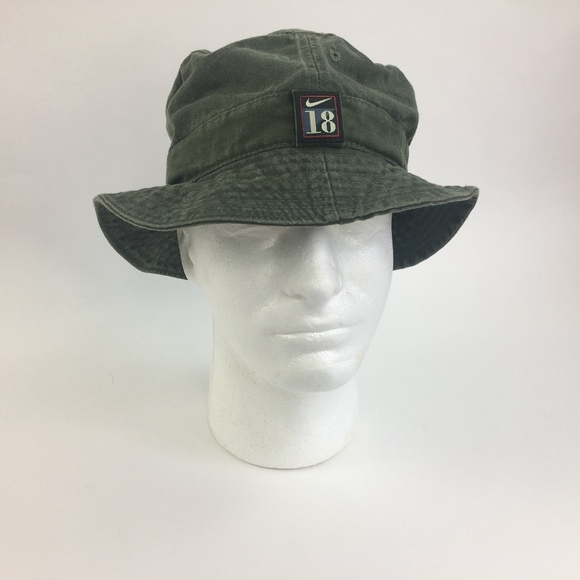 0e934cb3 Nike Accessories | Swoosh 18 Golf Bucket Hat Large 9 | Poshmark